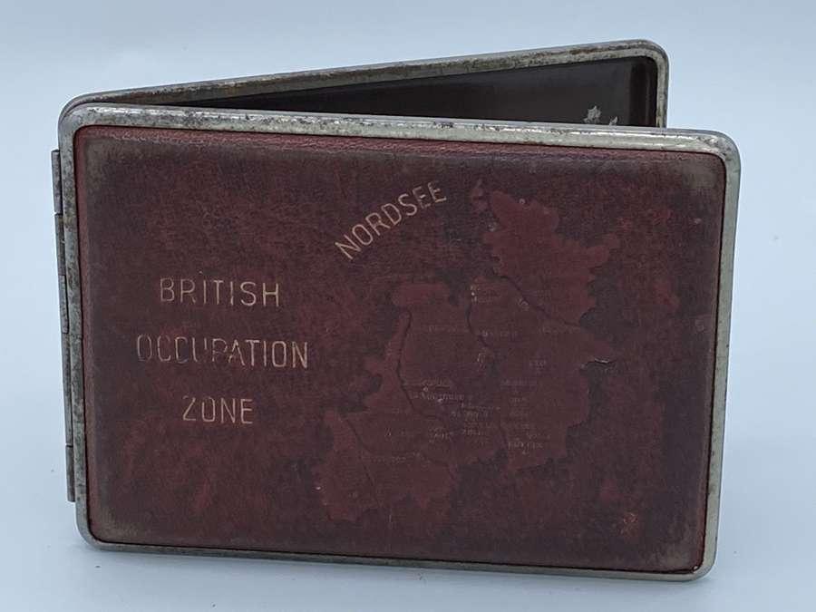 Post WW2 1946 British Occupation Zone Nordsee Cigerette Case