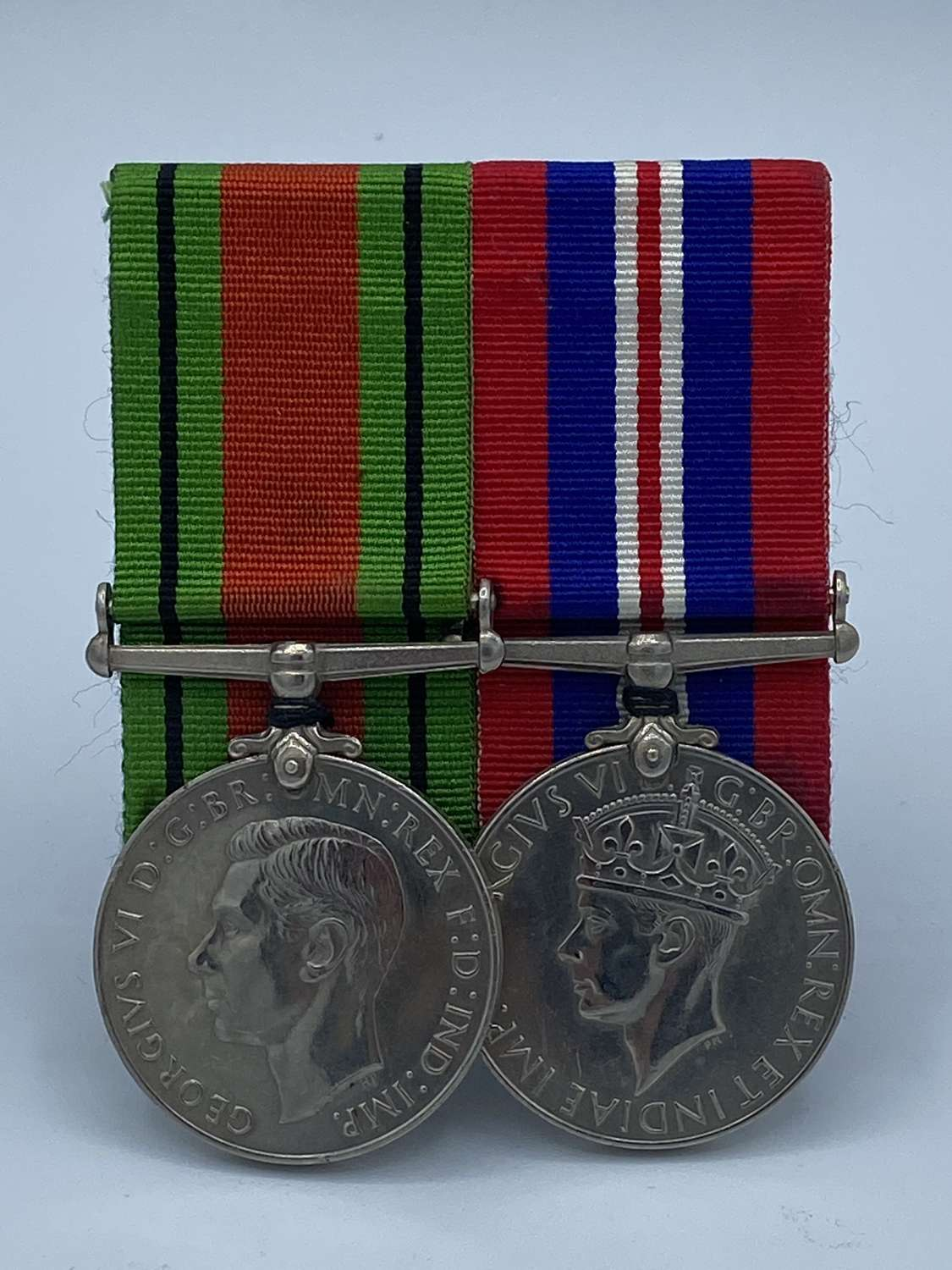 WW2 War And Defence Medals Mounted