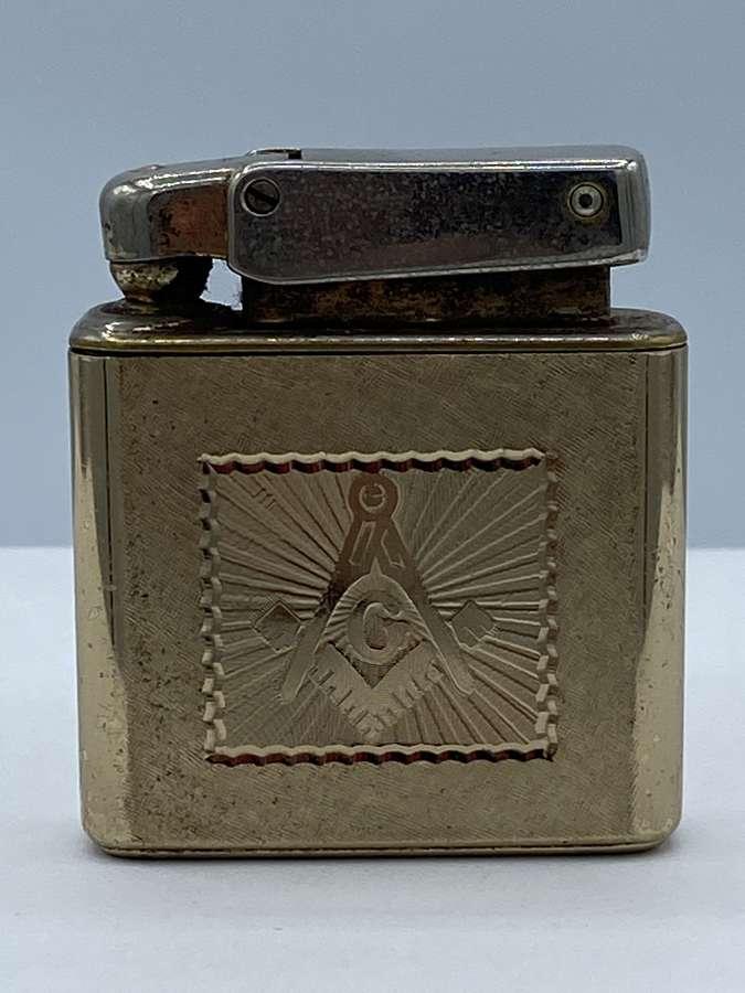 Antique Vintage Masonic Kreisler Lighter