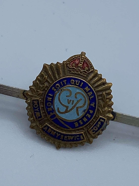 WW1 Royal Army Service Corps Sweetheart Brooch
