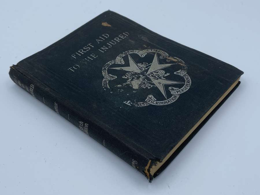 WW1 To WW2 St John Ambulance Book First Aid To The Injured
