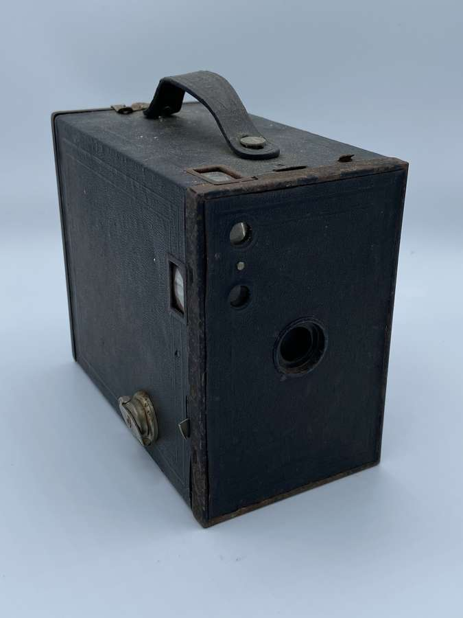 Vintage No2a Box Brownie Model C Kodak Good Condition