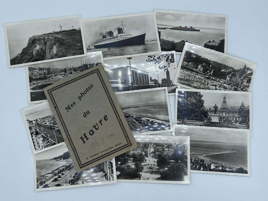 SS Normandie Tourist Photographs Dated 19.08.1940