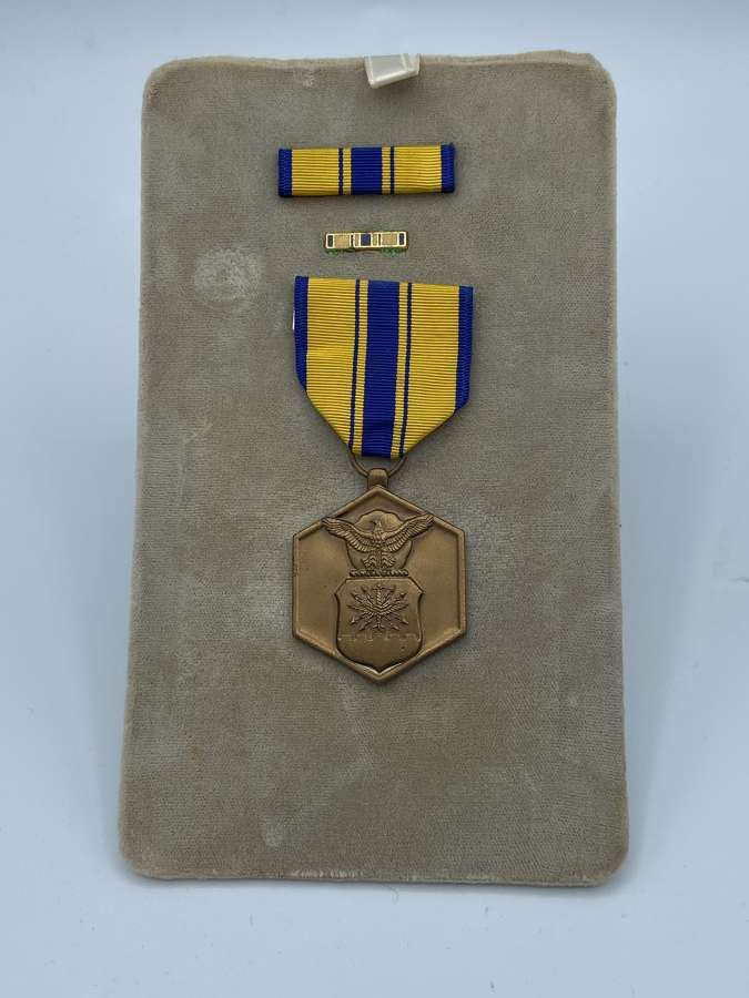 U.S. AIR FORCE MEDAL COMMENDATION MILITARY MERIT Vietnam Era