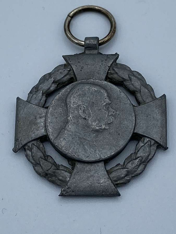 WW1 GERMAN AUSTRIAN 60TH JUBILEE 1848-1908 MEDAL