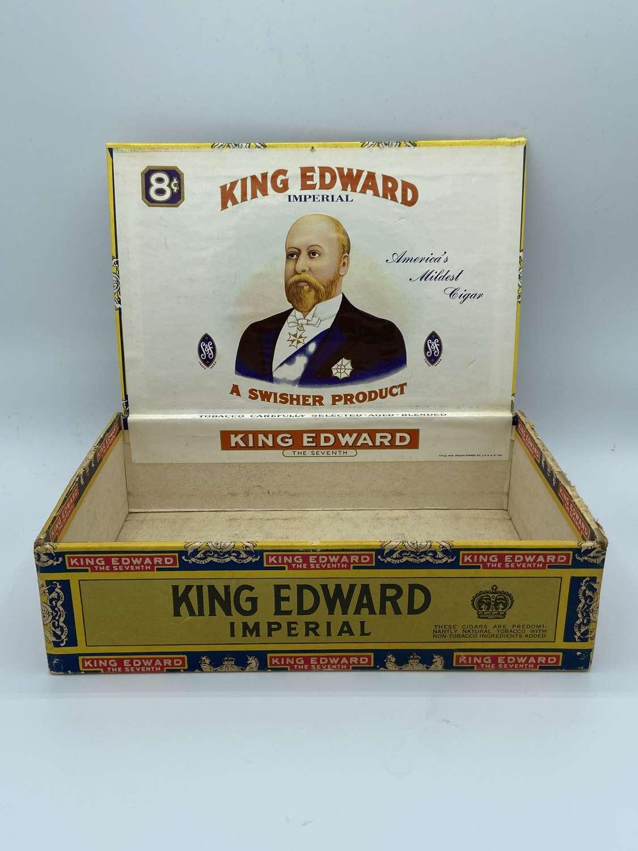 Large WW1 King Edward Imperial Cigarette Box