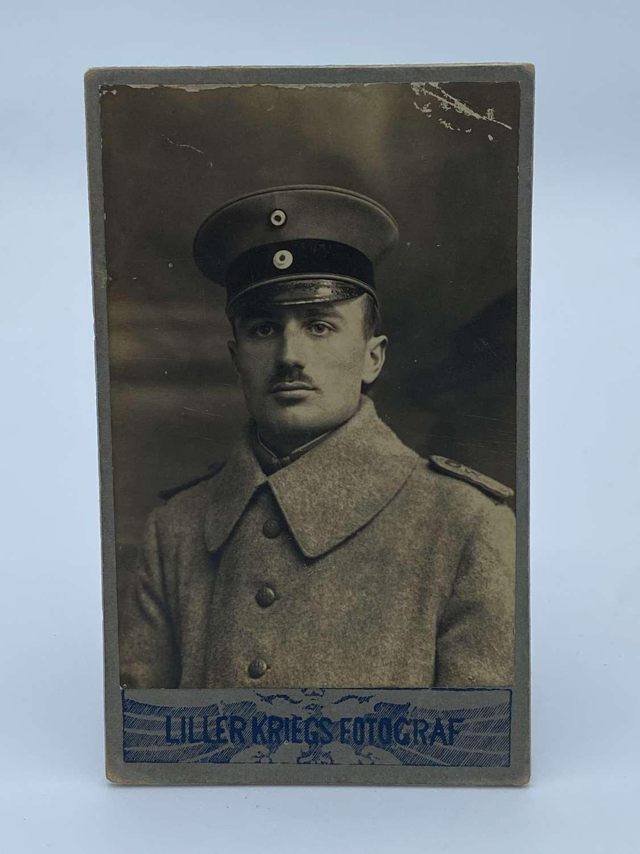 CDV WW1 German Officer Portrait Photograph 'War Photo'