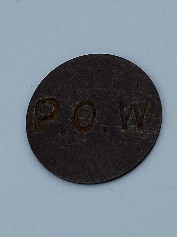 WW1 WW2 POW Prisoner Of War Trading Token Coin Currency Used In Stalag
