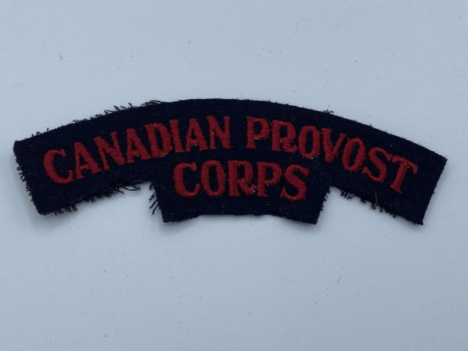 WW2 Canadian Provost Corps Shoulder Title