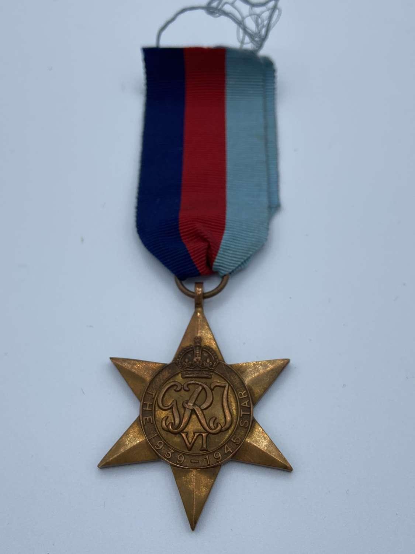 WW2 1939-45 Star Medal & Ribbon