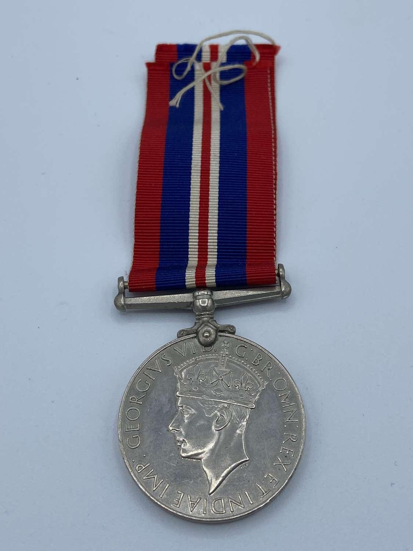 WW2 British War Medal & Ribbon