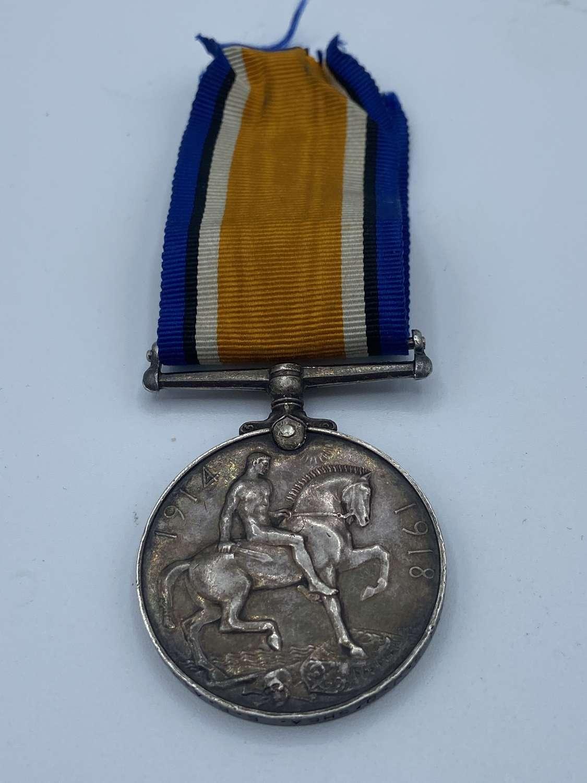 WW1 War Medal To 5730 S J O'Shea E.R.A.3. Royal Navy Served 12 Years