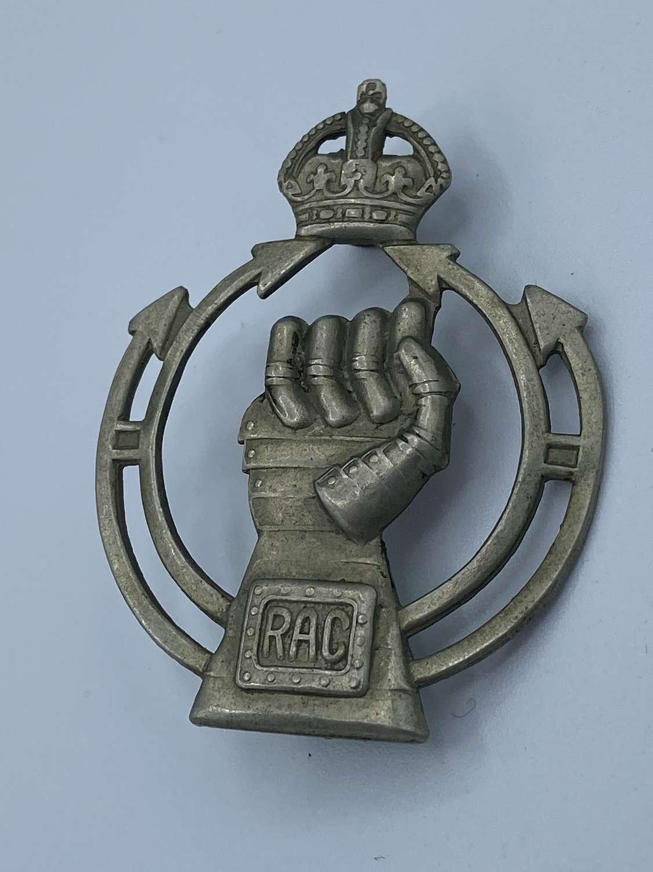 WW2 Royal Armoured Corps RAC Cap Badge
