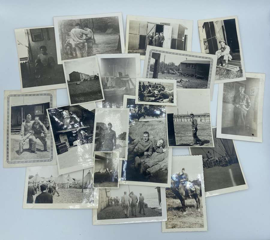 Joblot Of WW2 United States Army Photographs Pacific Theatre