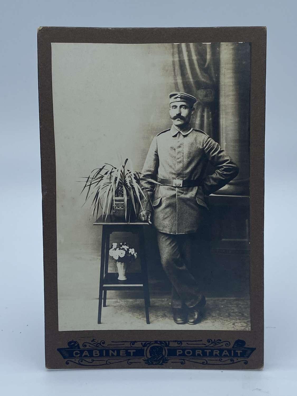 WW1 German Soldier CDV Photograph