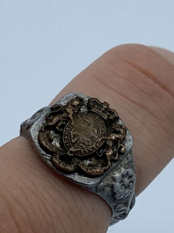 Boer war army General Service Corps Aluminium Trench Ring