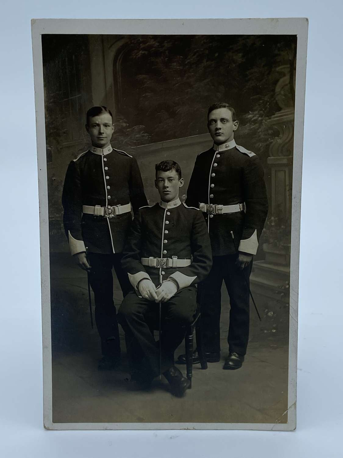 WW1 Grenadier Guards In Dress Uniform Photograph