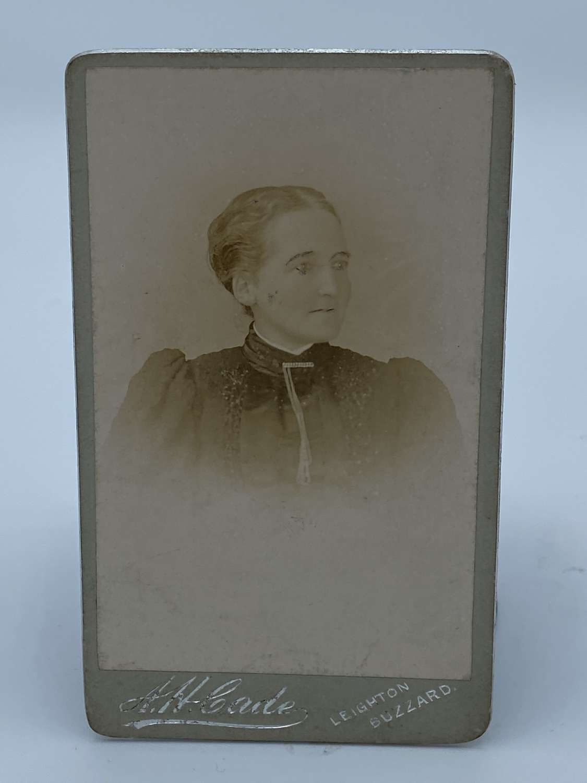 Victorian CDV Photograph Of Elderly Lady