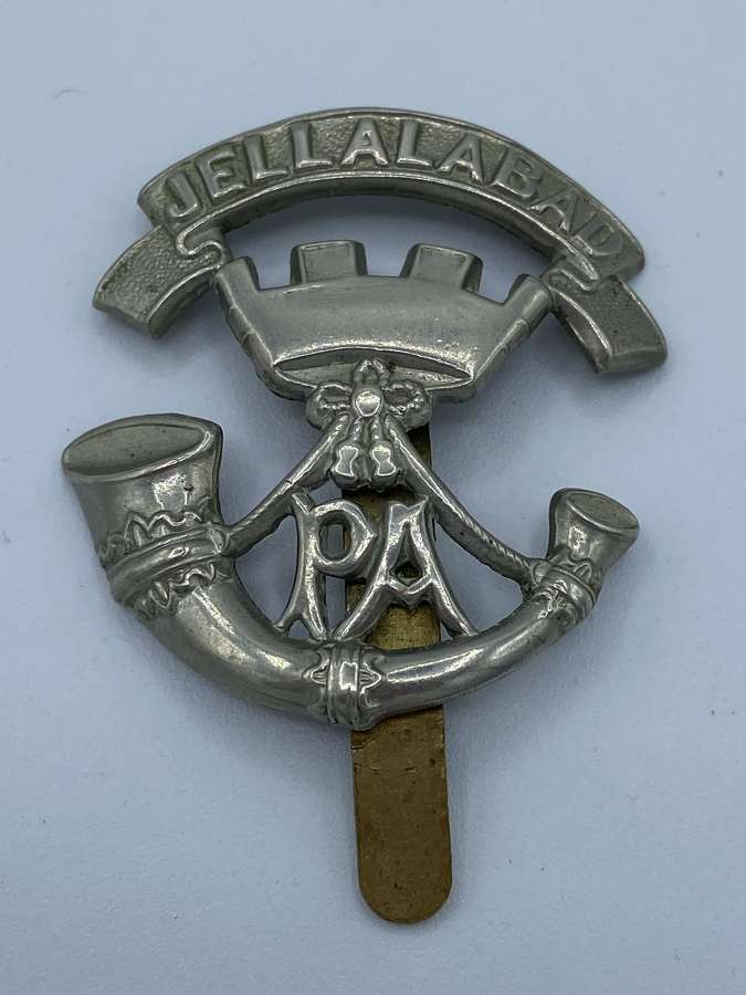 WW1 Somerset Light Infantry Jellalabad Slider Cap Badge