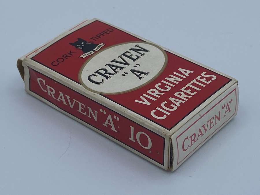WW1 Craven A Virginia Cigarettes Complete Pack