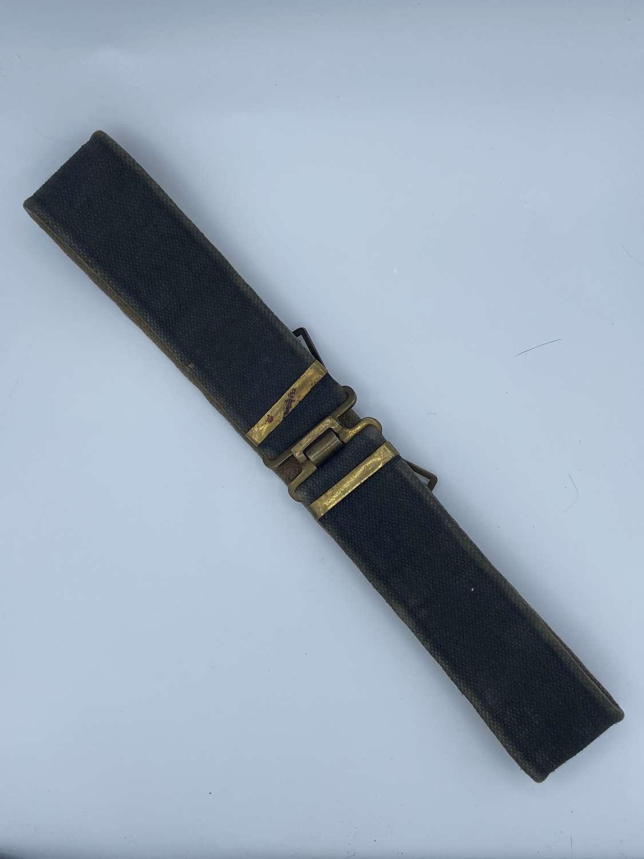 WW2 1937 Pattern British Army Rifle Regiment Blackened Belt