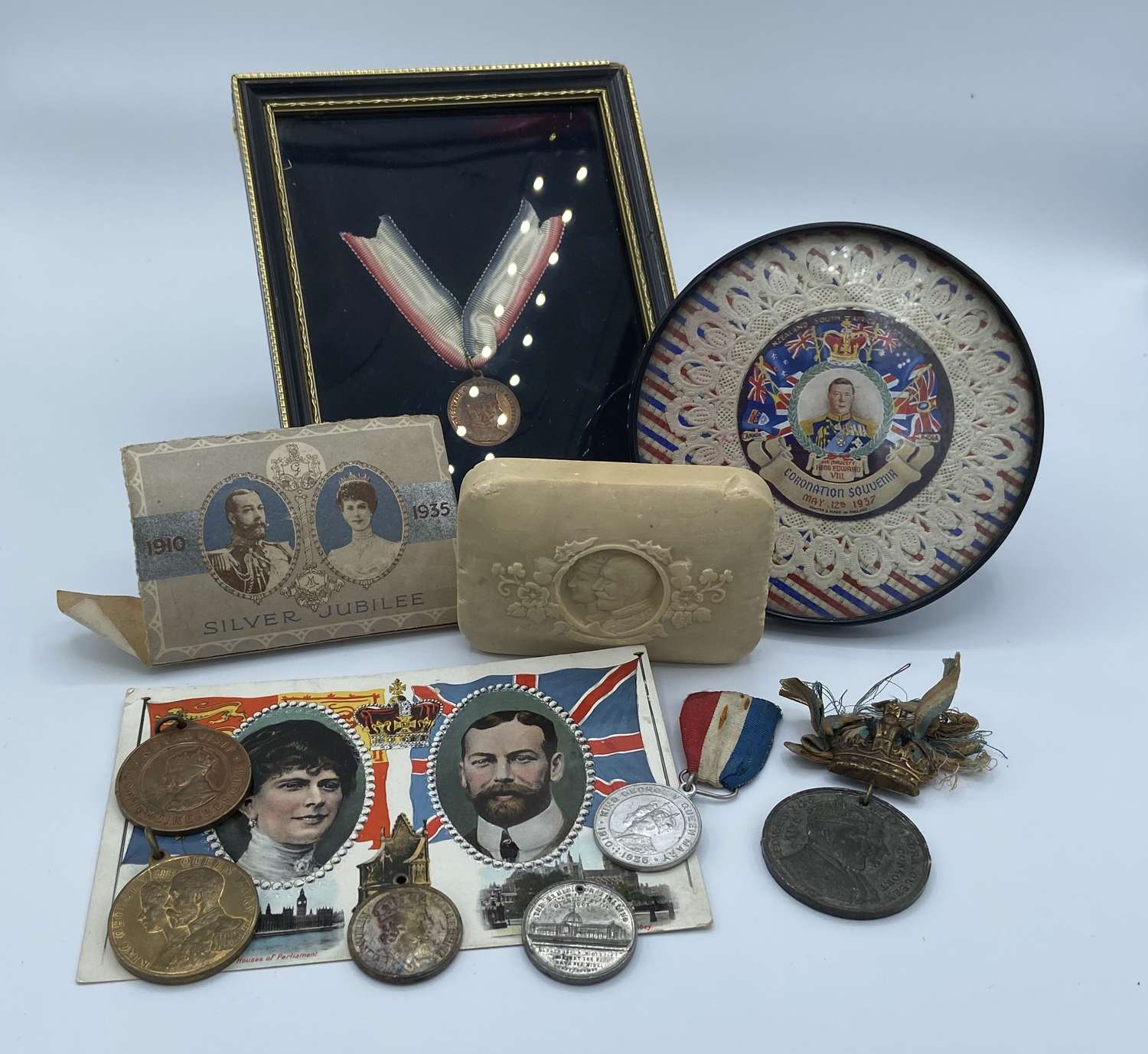 Group Of King Edward VII & Queen Alexandra Royal Gifts & Souvenirs
