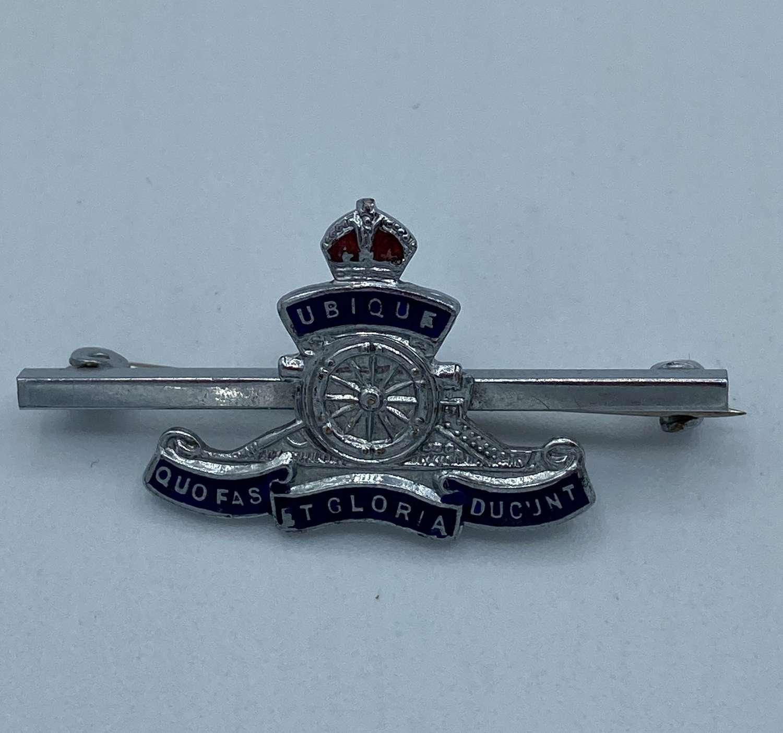 Ww2 Royal Artillery Sweetheart Brooch