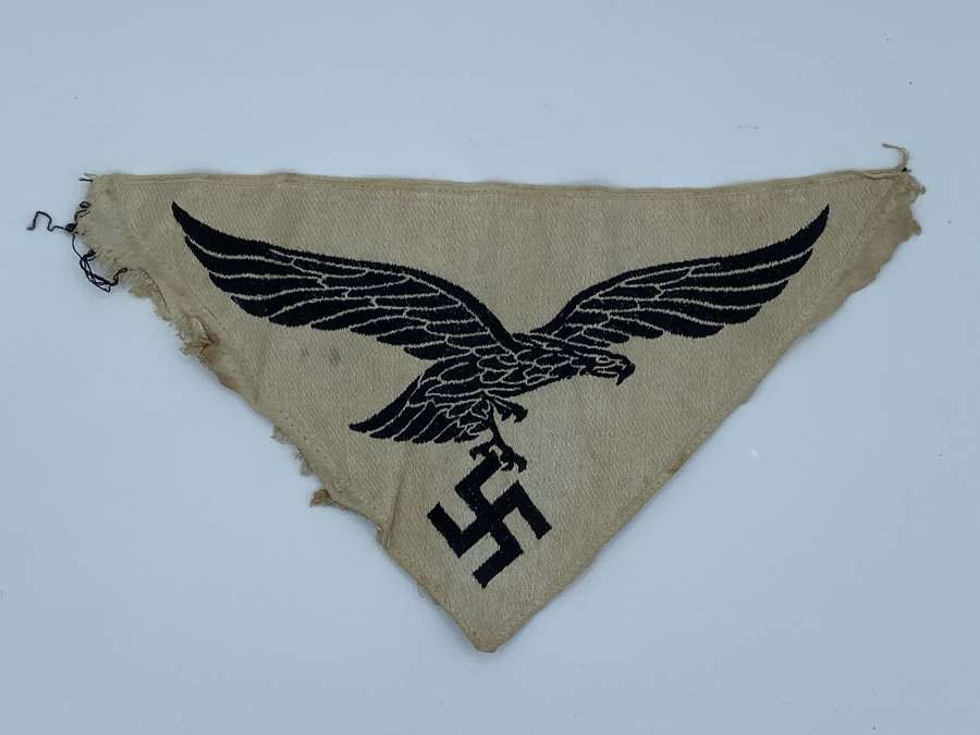 WW2 German 1st Pattern Luftwaffe Eagle Sport Shirt Emblem Insignia