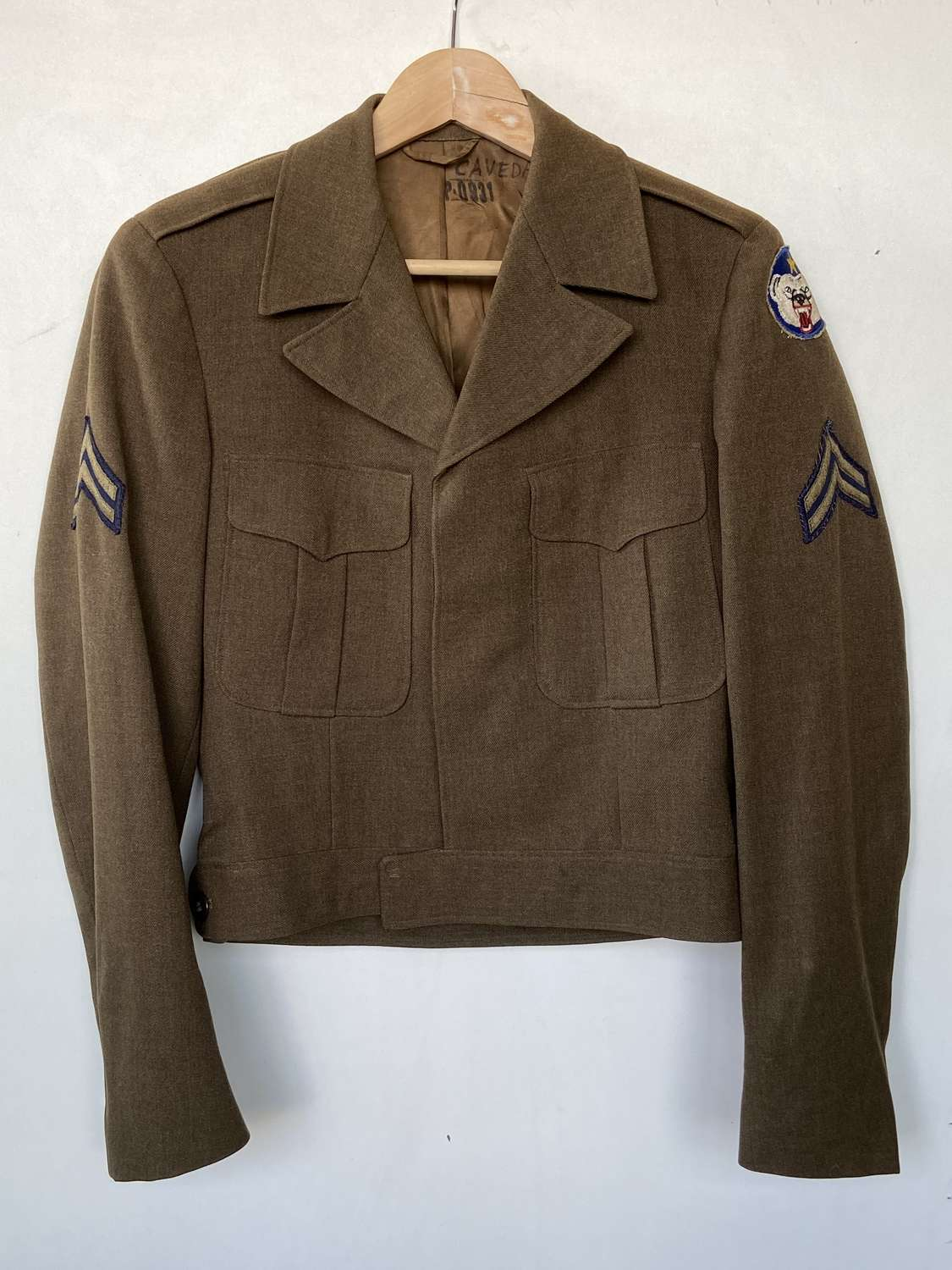 WW2 1949 Korean War Alasaka Defence Command Jacket