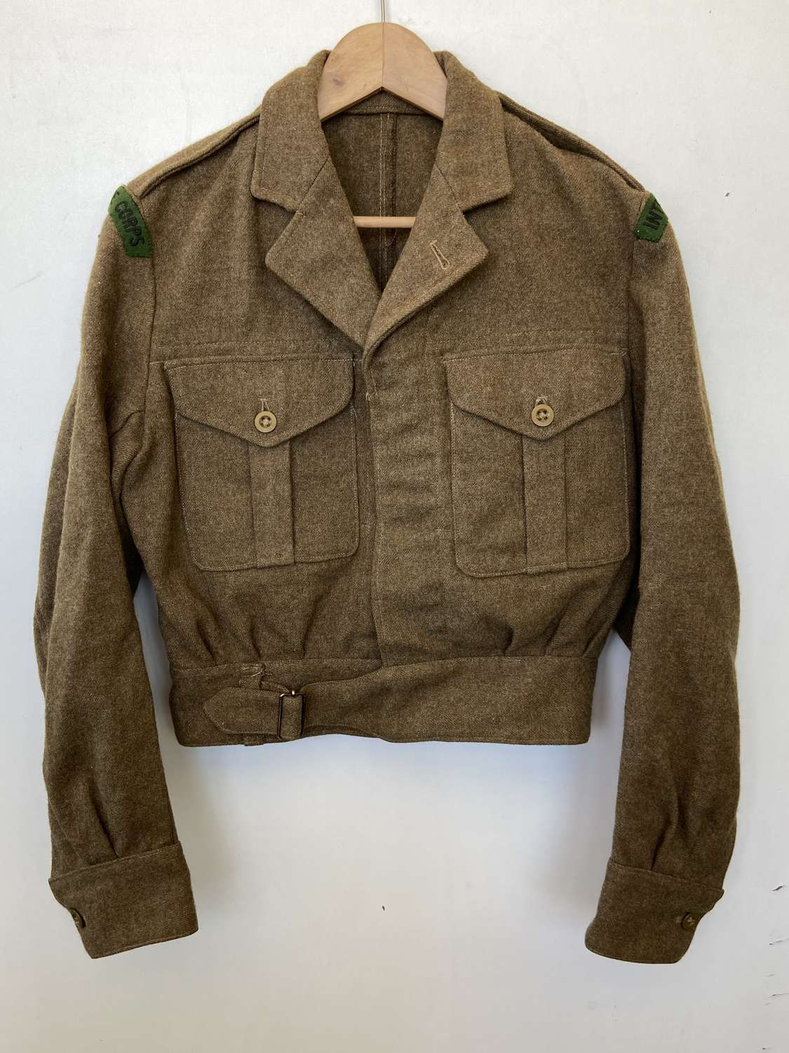 1954 Battledress Intelligence Corps With A BAOR UK Forces Germany
