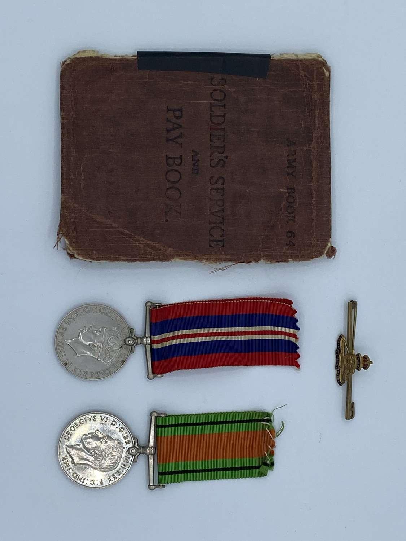 WW2 Royal Army Ordnance Corps Cpl Shaw