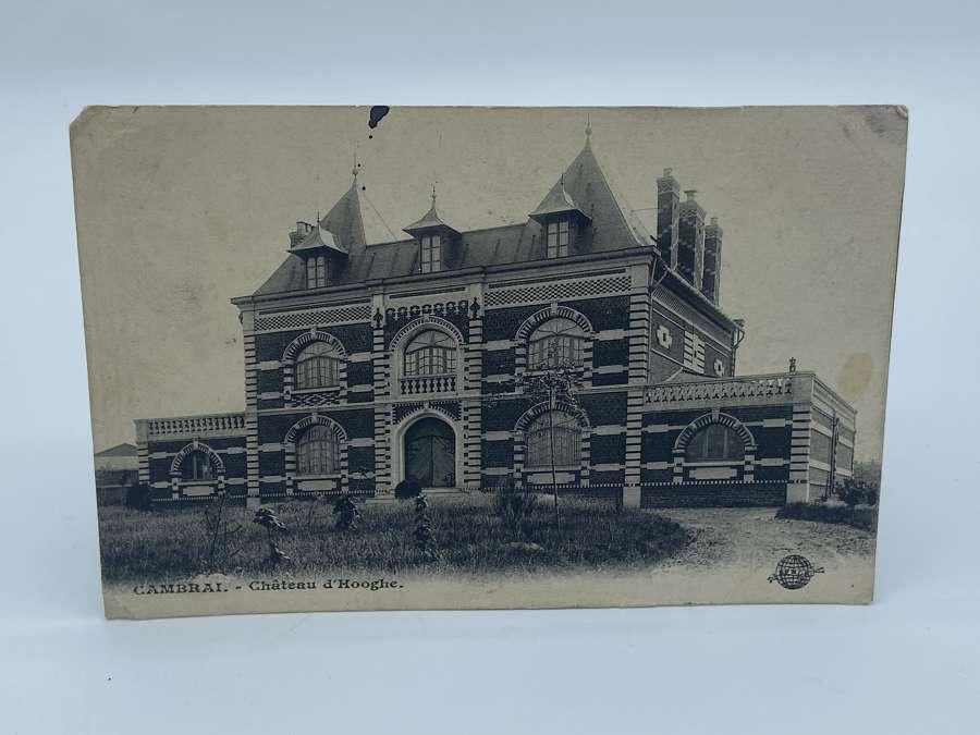 Pre WW1 Cambrai - Chateau d'Hooghe Hotel S.F.N.G.R Post Card
