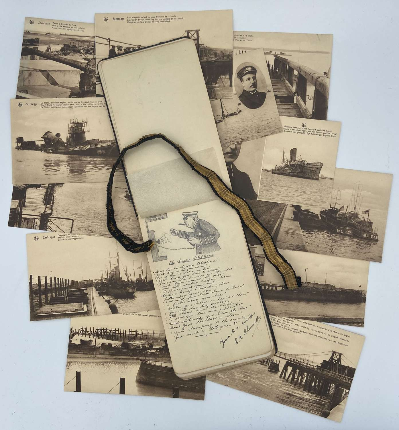 1920s Merchant Navy Autograph Book grouping To SS Somerset