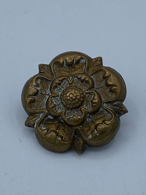 Large WW1 Coldstream Guards Brass Shoulder Badge Tudor Rose