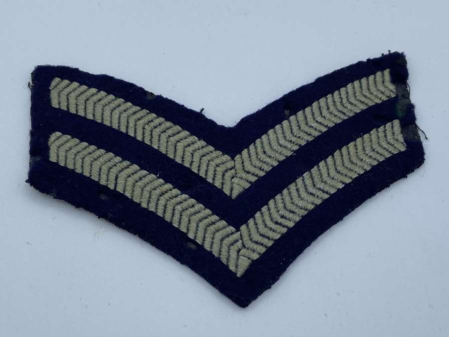 Ww2 RAF Uniform Corporal Stripes Ranks