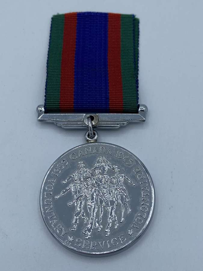 WW2 Canadian Army Volunteers Service Un-named Medal
