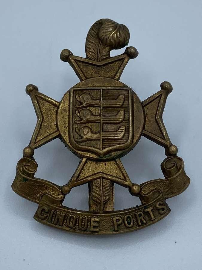 Ww1 Royal Sussex 5th Cinque Ports Battalion Cap Badge