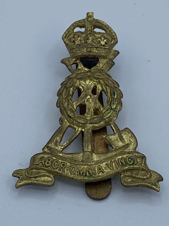 WW2 Labour Corps Slider Cap Badge