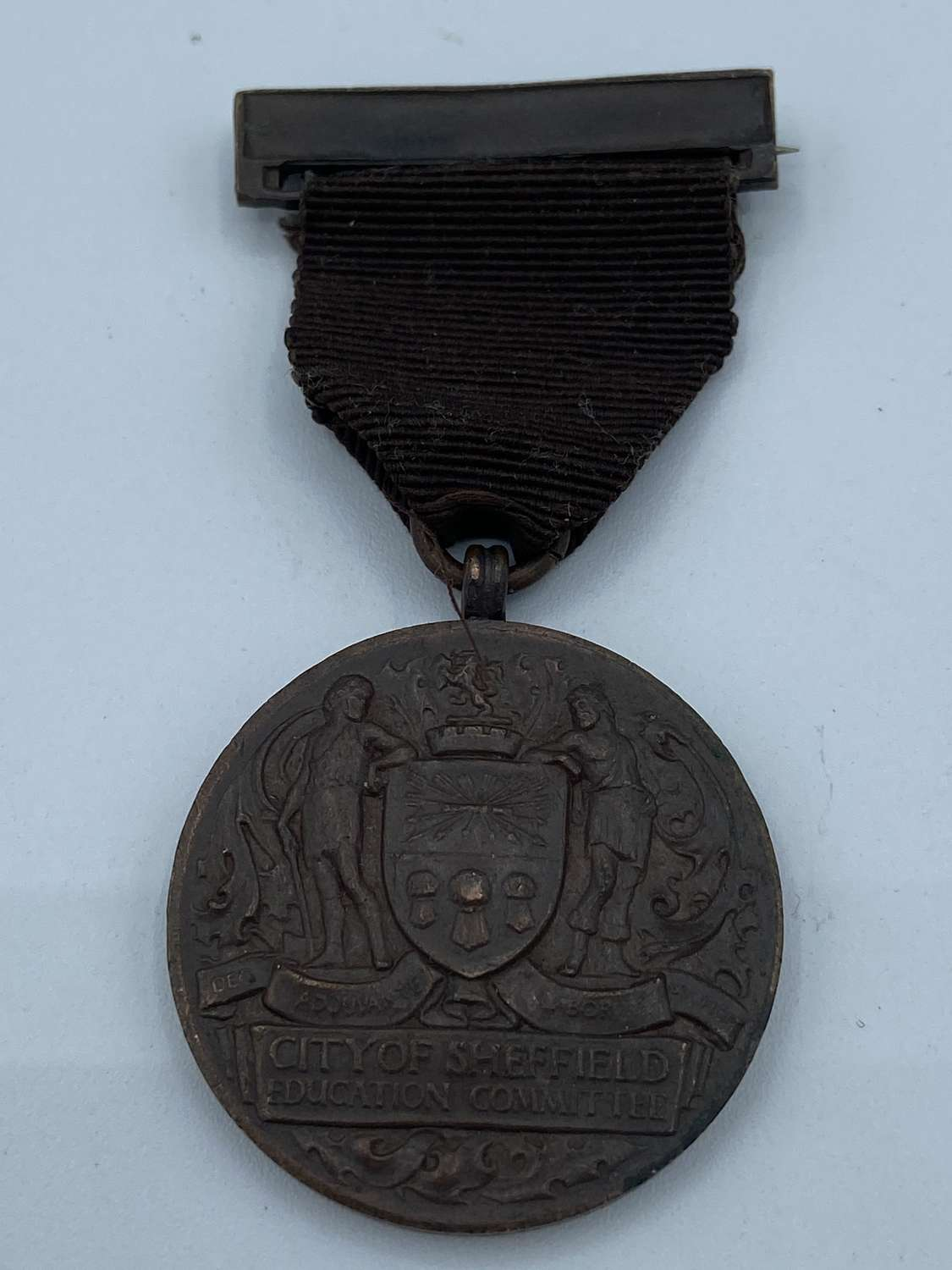 Victorian Antique City Of Sheffied Education Committee Medal P Cooper