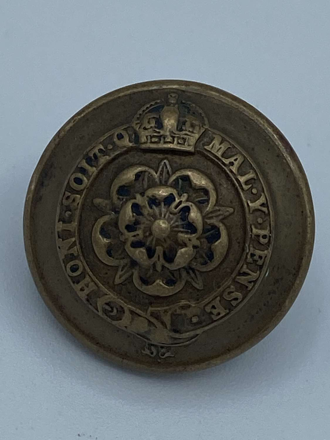 WW1 Royal Fusiliers Button J R Guant & Son Large Tunic Button