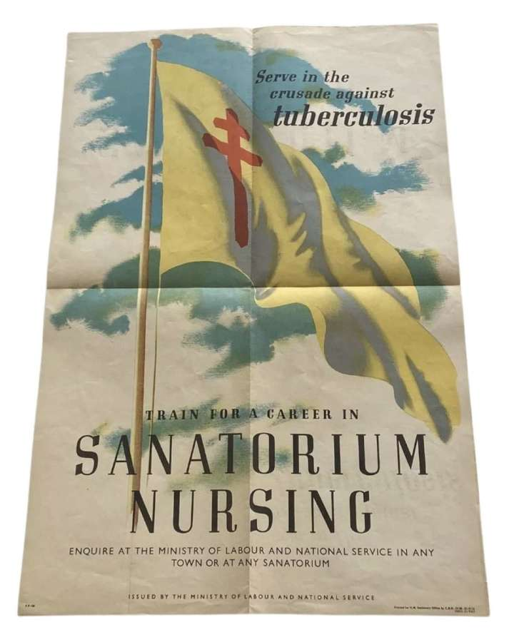 Antique 1950s Asylum Sanatorium Nursing Ministry Of Labour Poste