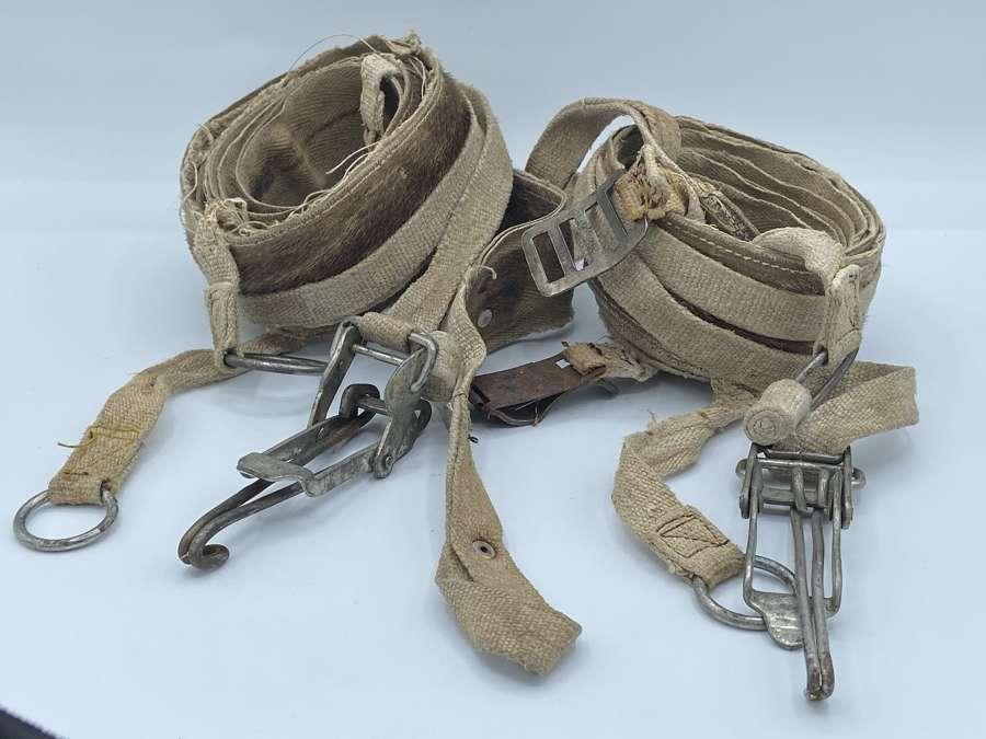 WW2 German Eastern Front Seal Skin Husky Lead Reigns & Attachment Set