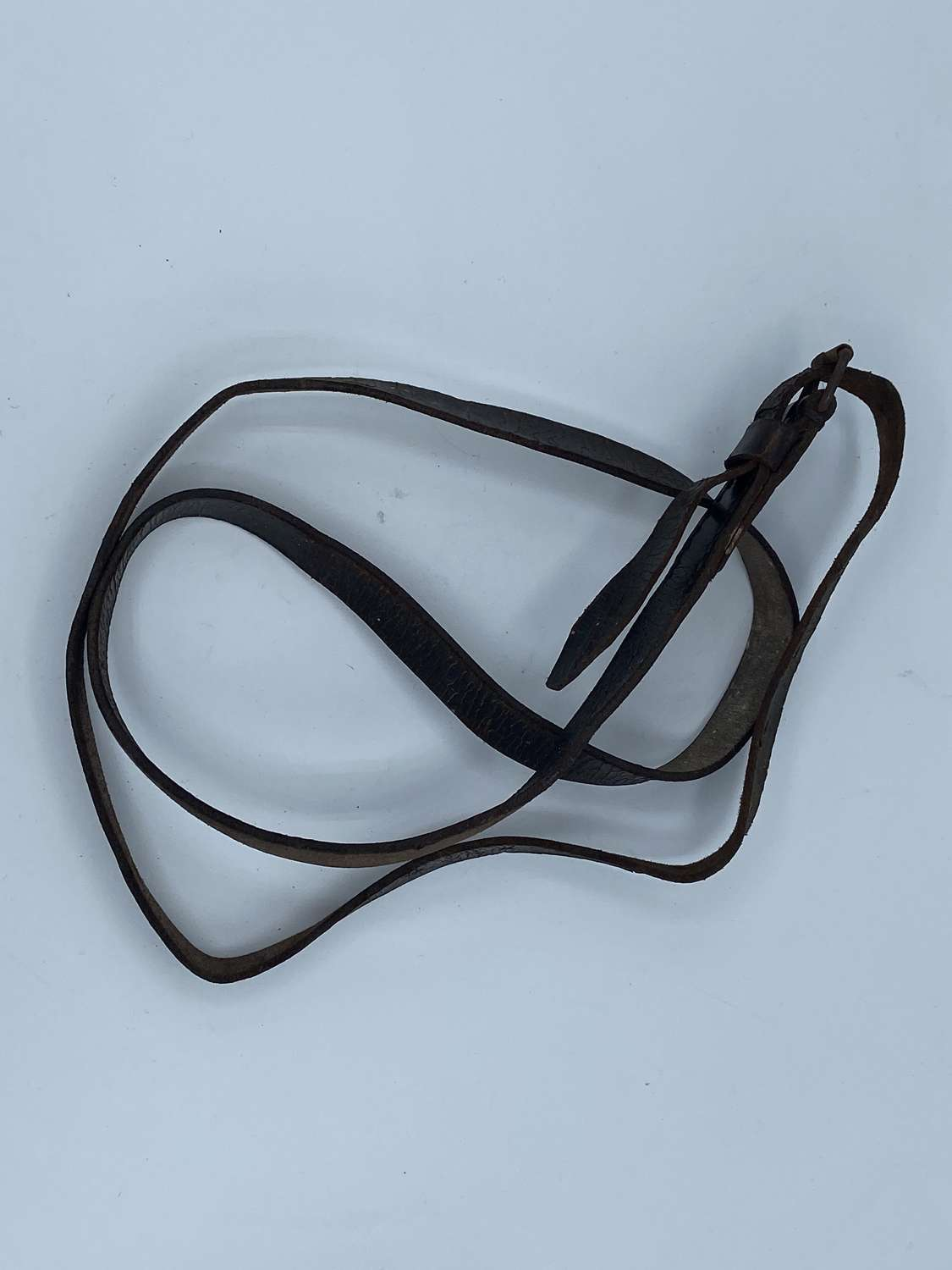 Ww2 German Wehrmacht infantry Leather Strap For Zeltbahns