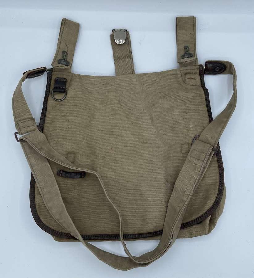 Original Great Quality WW2 German Hitler Jugend Bread Bag And Strap