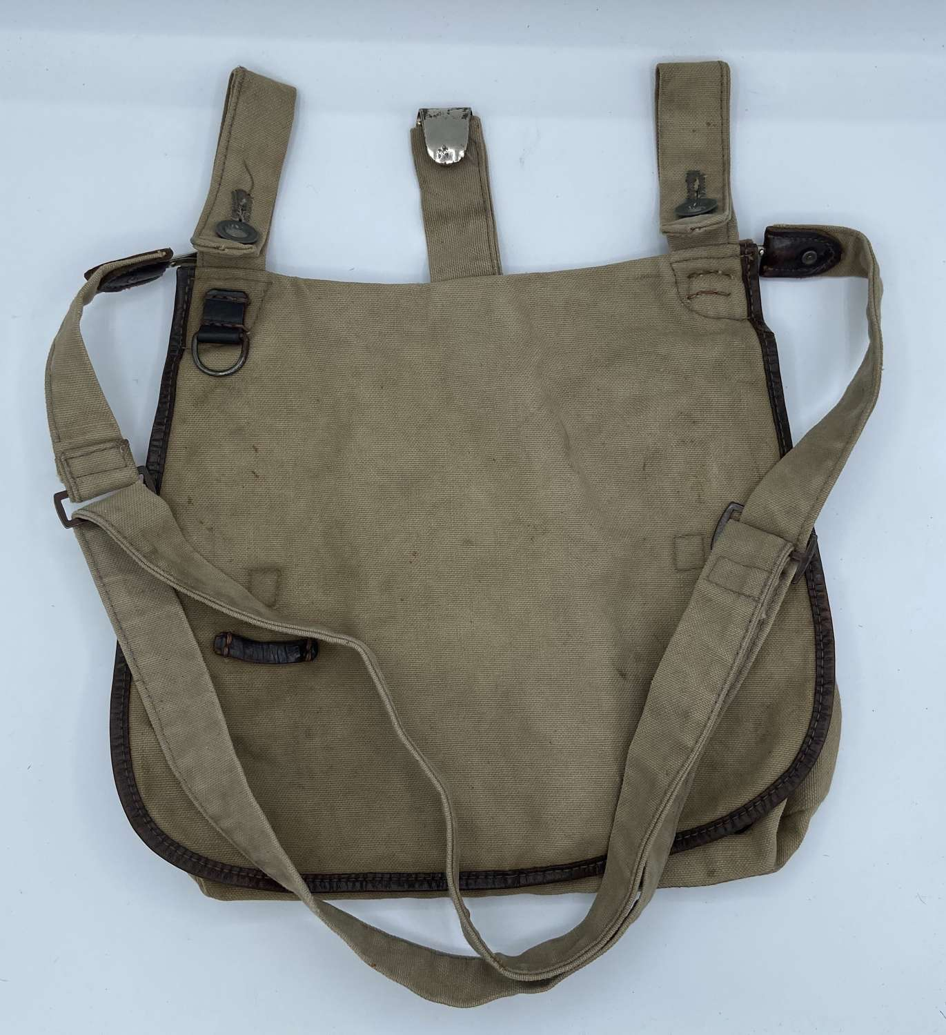 Original Great Quality WW2 German Hitler Jugend Bread Bag And Strap