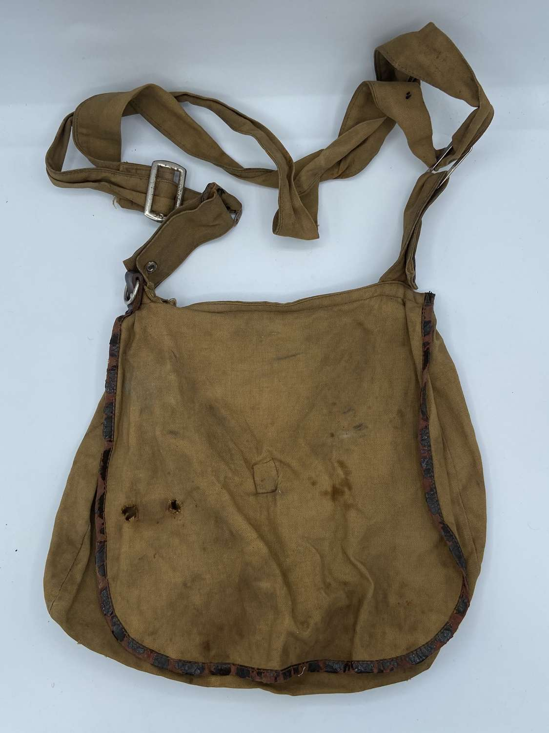 Late WW2 German Hitler Jugend Bread Bag With Strap
