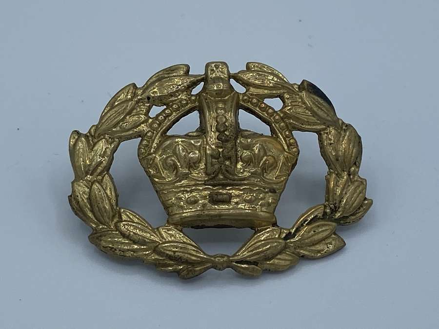 WW2 British Army Brass Warrant Officer Sleeve Badge