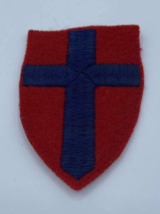 WW2 British Army 21st Army Group Lines Of Communication Patch