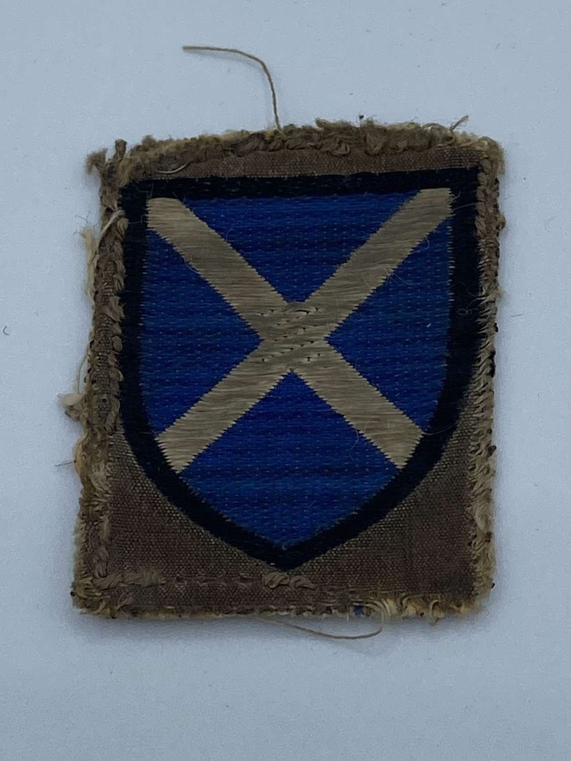 WW2 52nd Lowland Division Formation Patch Sign