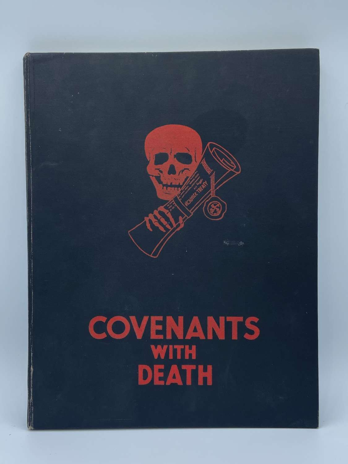 1934 Covenants Of Death Propaganda Book By The Daily Express